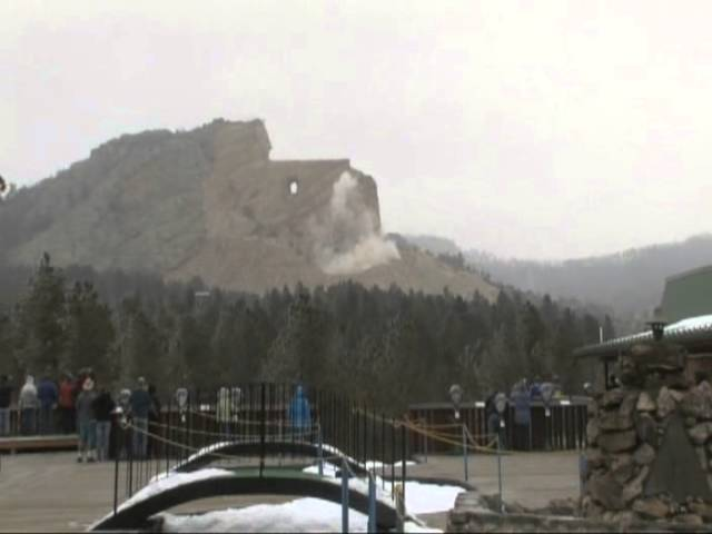 November 11, 2013 Veterans Day Blast Crazy Horse Memorial