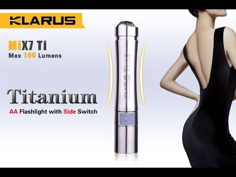 Klarus MIX7 Titan AA Lampe