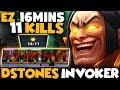 Dstones Invoker Gameplay EZ 16mins Game So Sad For Dire Team Dota 2 Invoker mp3