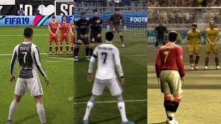 Free Kick From FIFA 97 to 19