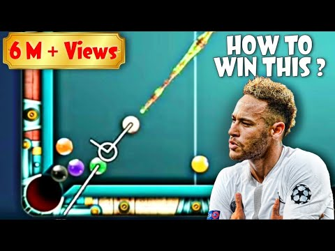 How to win from this situation - 8 ball pool.