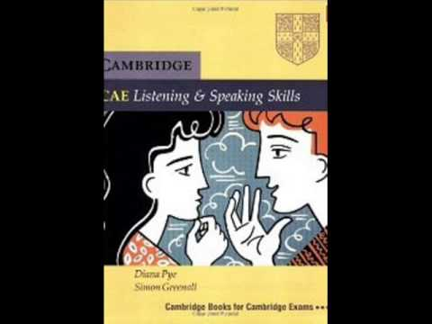 audio book Cambridge CAE Listening and Speaking Skills