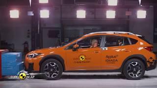 Euro NCAP Crash & Safety Tests of Subaru Impreza 2017