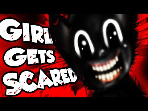 CARTOON CAT vs GIRLS in VRCHAT!!! (SCARY)