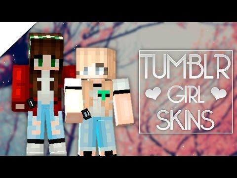 PIXEL GUN 3D | Tumblr Girl Skins ♡