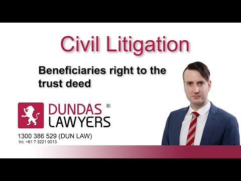 Beneficiaries Right To Receive Trust Documents On Demand