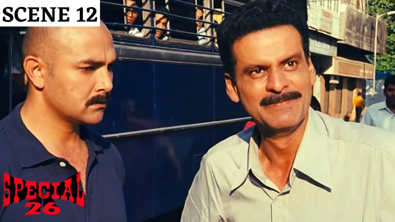 Download Special 26 | स्पेशल 26 | Scene 12 | CBI Got Played | Manoj Bajpayee | Akshay Kumar | Anupam Kher