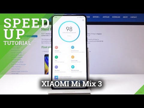 How to Speed Up XIAOMI Mi Mix 3 - Boost XIAOMI Performance