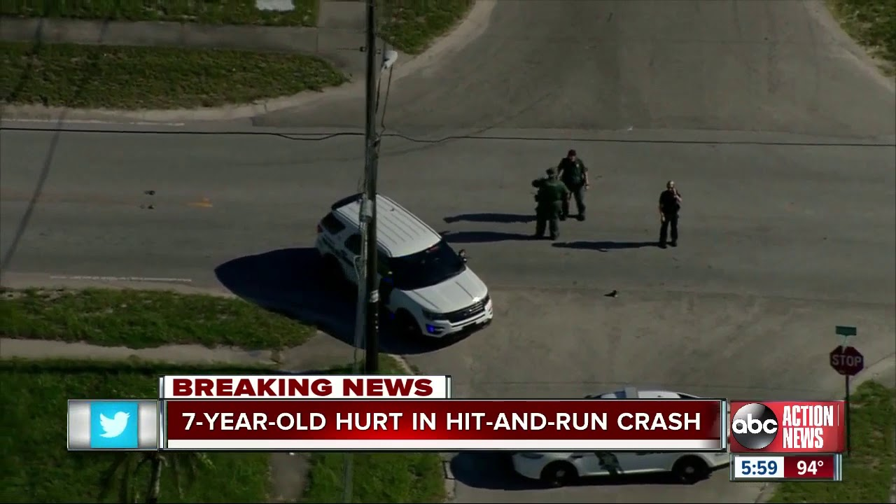 7-year-old seriously injured in hit-and-run in Pasco County