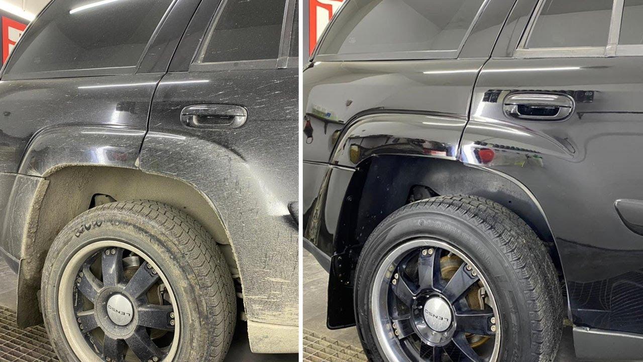 Полировка и ГЛУБОКИЙ ДЕТЕЙЛИНГ брутального Chevrolet TrailBlazer
