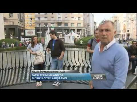 imparator Fatih Terim Milano'da Grande