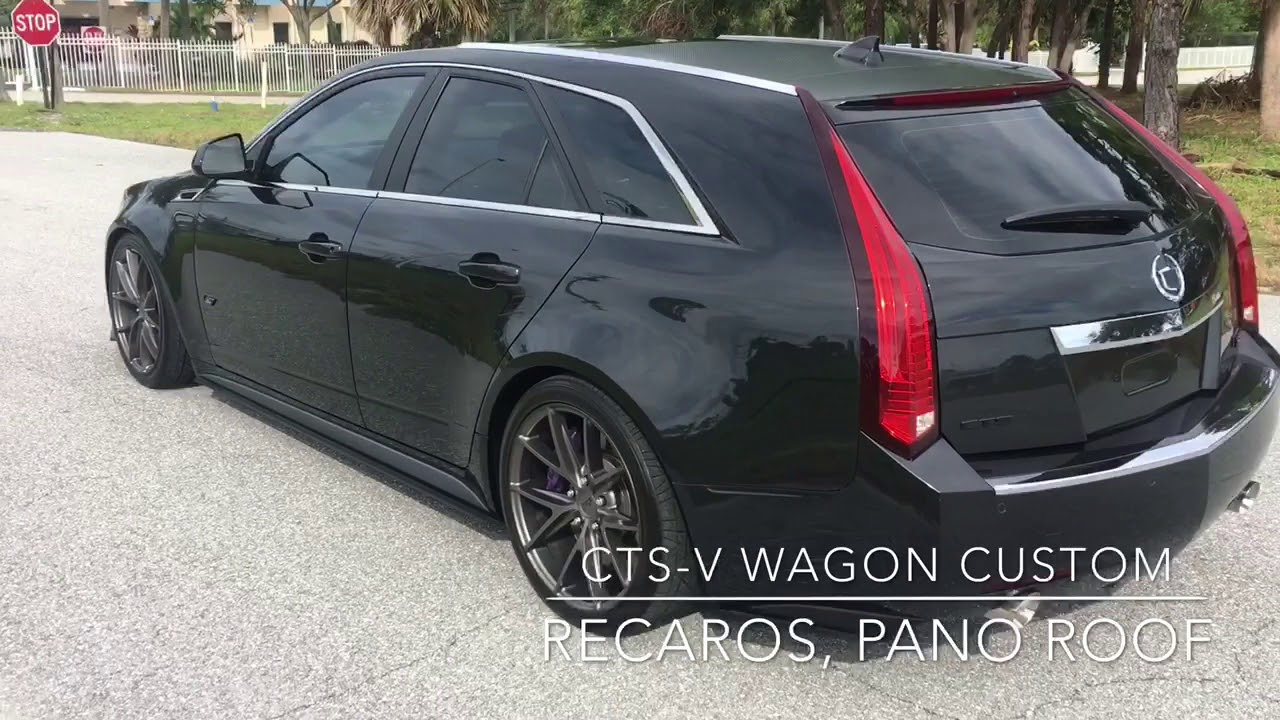 Cadillac Cts V Wagon For Sale >> 2012 Custom Cts V Wagon For Sale Walk Around Video