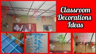 Classroom decoration ideas || school decoration ideas ||