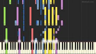 Monica - For You I Will (Instrumental Tutorial) [Synthesia]
