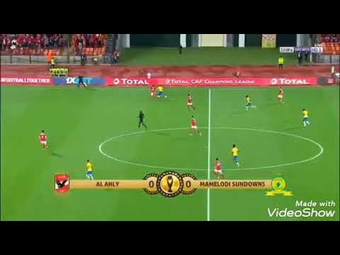اهداف الاهلي وصن داونز في نصف نهائي دوري الأبطال