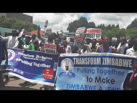 Transform Zimbabwe demo against Zimsec and Min of Primary & Sec education