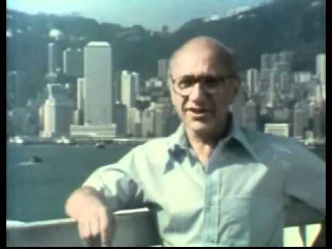 Milton Friedman Describes Hong Kong as an Example of the Free Market System