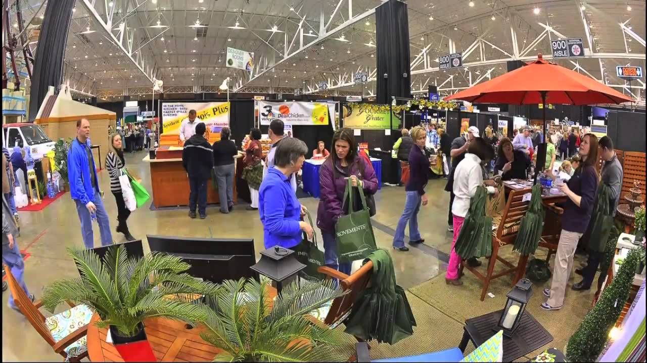 2013 The Great Big Home And Garden Show Time Lapse