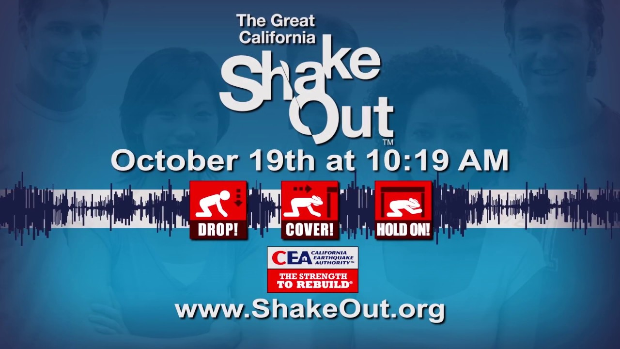 2017 shakeout 30s psa california great shakeout earthquake drills