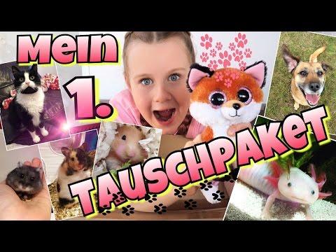 MEIN 1.TAUSCHPAKET! mit MIYUKI Tiervideos mit Herz|coole Mädchen
