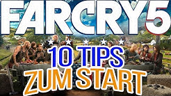 Far Cry 5 - Einsteiger Tips - 10 Tips für einen perfekten Start - Einsteiger Guide - Anfänger Tips