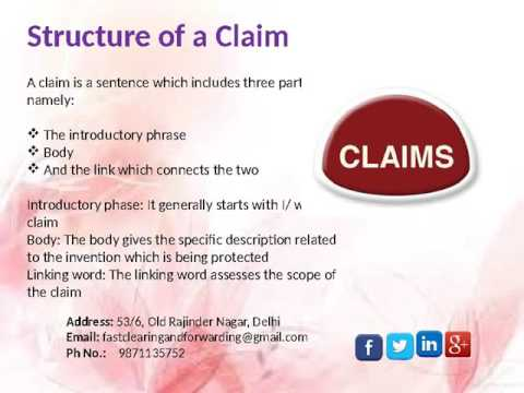 How to Write a Well Drafted Patent Claim?