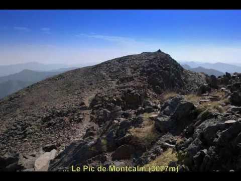 Pic de Montcalm et Pique d'estats