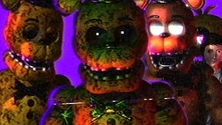 DONT WAKE THE CHILD EATING ANIMATRONIC || FNAF Final Hours (FREE ROAM Five Nights at Freddys)