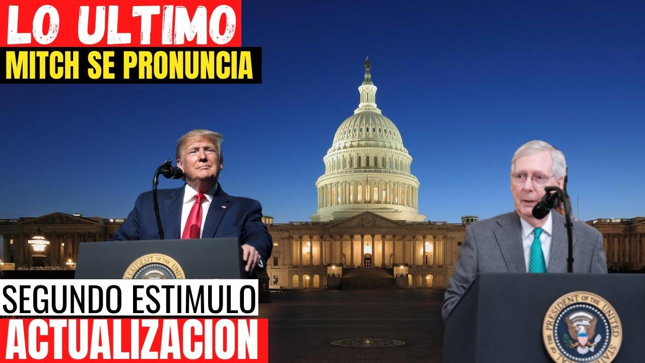 Download LO ULTIMO Segundo Estímulo Económico - Mitch se pronuncia sobre segundo cheque de estímulo económico