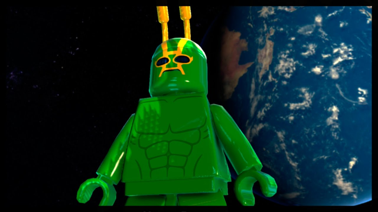 LEGO Batman 3: Beyond Gotham - Oa Free Roam (Bruce Wayne ...
