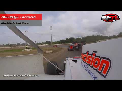 Jim Becker @ Glen Ridge Motorsports Park - Modified Heat Race 8/19/18