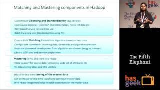 De-dup on Hadoop