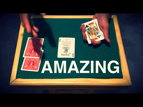 Absolutely Mind Blowing Card Trick Revealed