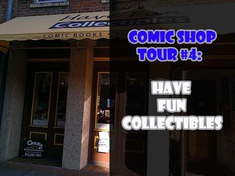 Comic Shop Tour #4: Have Fun Collectibles