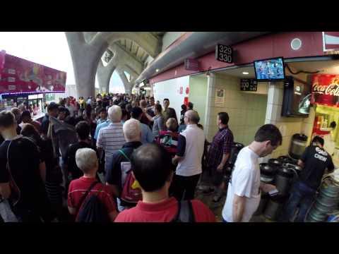 "【Hong Kong Walk Tour】""HK Rugby Sevens 2014"" @ HK Stadium Day 2 - Raw Footage 5"