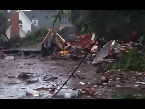 Mudslides Sweep Through Southern California