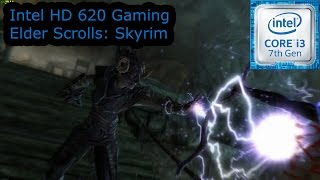 intel hd 620 gaming skyrim i3 7100u i5 7200u i7 7500u kaby lake