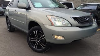 Used Gold 2004 Lexus RX 330 SUV Review | Camrose Alberta