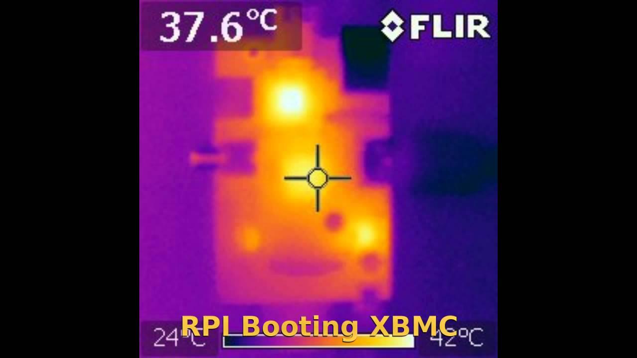 Raspberry Pi Thermal Imaging Video