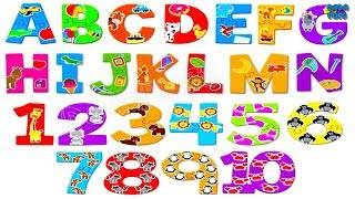 ABC Song|Learn Numbers 123| Endless Numbers Counting 1 to 20| Learning A To Z Alphabets For Kids