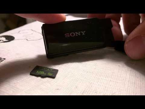Sony MW1 FM MP3 - 128GB & 64GB FAT32 cards