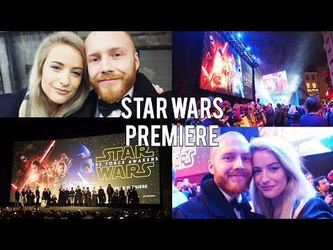 STAR WARS UK PREMIERE  | FROWMAS DAY 16