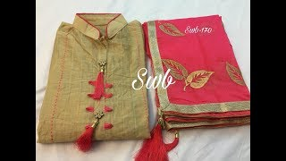 Latest Dress Materials Collection with Price Contact Details // Latest Trendy Salwar Suits Designs