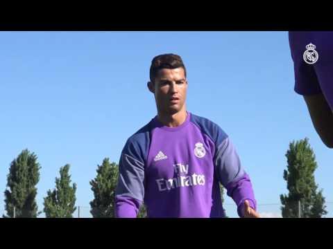 Cristiano Ronaldo and Coentrao continue their recovery