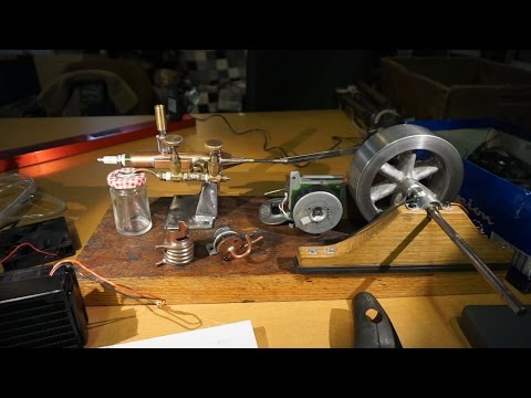 Homemade Internal Combustion Engine LIVE STREAM Run and Q&A