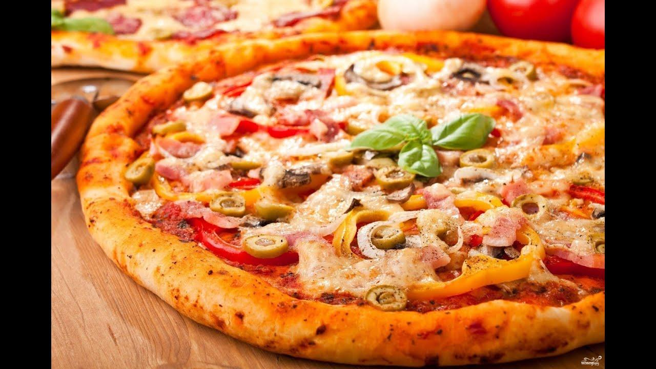 Рецепт пиццы в домашних условиях в духовке без помидоров 70