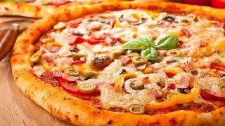 Домашняя пицца в духовке, видео(Домашняя пицца в духовке, видео Задались вопросом: как приготовить быстро и вкусно домашнюю пиццу? Представ..., 2015-05-25T11:24:17.000Z)