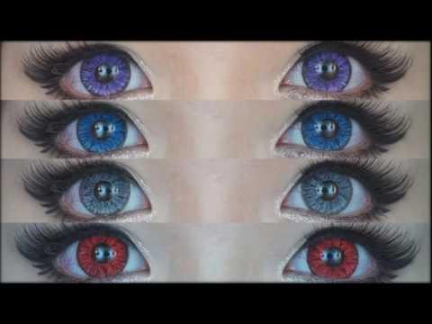 Какие цветные линзы для карих глаз?