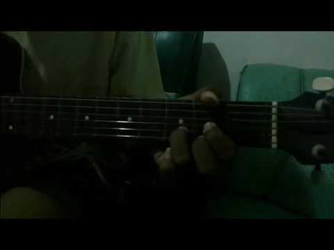 cover gitar pee wee gaskins - sebuah rahasia