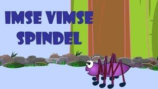 Imse vimse spindel | Svenska Barnsånger | Swedish kids songs